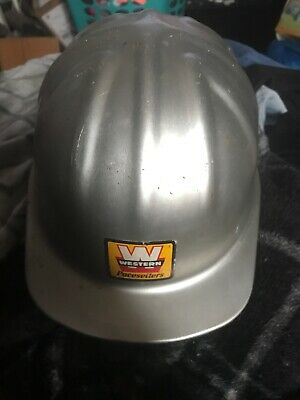 Aluminum MCDONALD T MSA 6 1/2-7 3/4 Safety Hard Helmet Hat Cap Class C • 65$