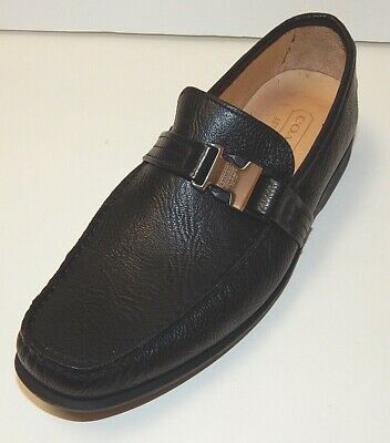 $119.99 • Buy COACH LAWSON MEN'S LOAFERS SHOES Sz 9 MADE IN ITALY GENUINE LEATHER NEW AUTHENTI