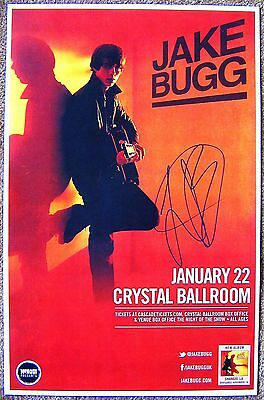 £30.21 • Buy Signed JAKE BUGG Gig POSTER In-Person W/proof Autograph Concert