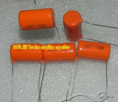 $1.93 • Buy 600V0.1UF 715p 716P Film Capacitors Amplifier Promise Coupling Capacitor
