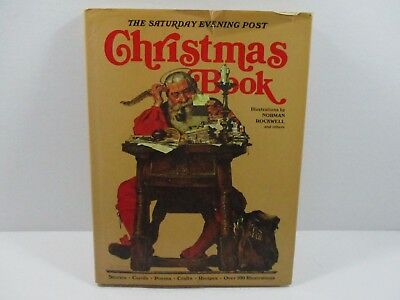 $ CDN10.67 • Buy The Saturday Evening Post Large Christmas Book Norman Rockwell 1978 Table Book