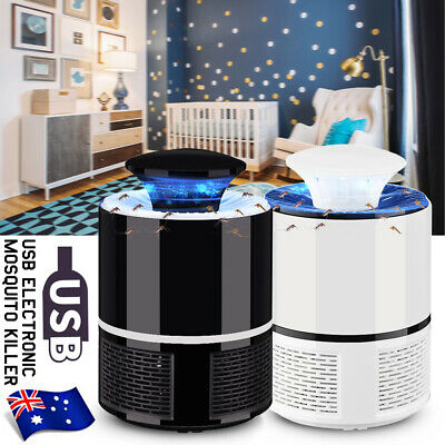 AU10.99 • Buy USB Mosquito Insect Killer Electric LED Light Fly Bug Zapper Trap Catcher Lamp