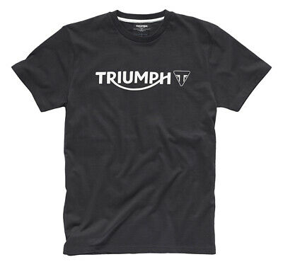 Triumph Logo T-Shirt - Black - # Genuine Triumph Clothing • 19.99£