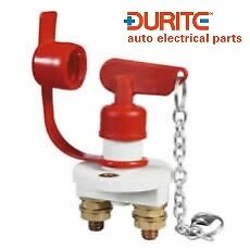 Durite 0-605-13,  Marine Battery Isolator With Removable Key + Splashproof Cover • 26.99£