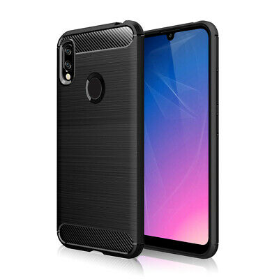 AU10.31 • Buy SDTEK Case For Huawei Y6 (2019) Carbon Fibre TPU Silicone Phone Cover Shockproof