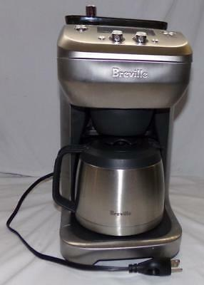 $185.85 • Buy Breville Drip Coffee Maker Model BDC650BSS Bean Grinder Stainless