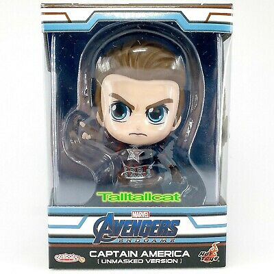 $ CDN24.04 • Buy Marvel Hot Toys Avengers END GAME Captain America Cosbaby ( Unmasked Version )