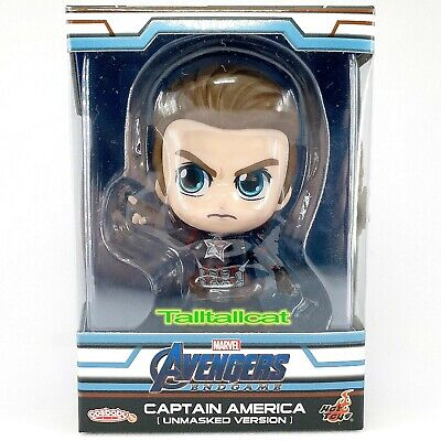 $ CDN22.65 • Buy Marvel Hot Toys Avengers END GAME COSB555 Captain America Cosbaby (Unmasked Ver)