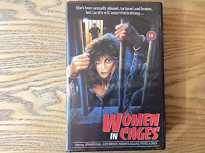 Women In Cages! Prison Exploitation, Rare Vhs Video! Look At My Other Videos! • 18£