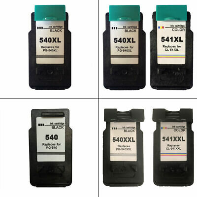 PG540 / CL541 / XL / XXL Refilled Ink Cartridges For Canon PIXMA MG3650 Printer • 15.95£
