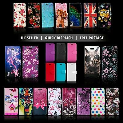 For Samsung Galaxy A6 2018 & More Wallet Leather Book Flip Phone Full Case Cover • 3.76£