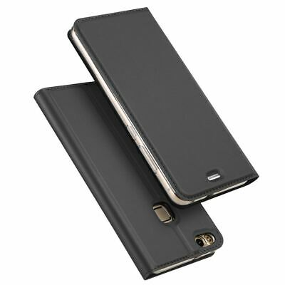 Case For Huawei P8 Lite 2017 Ultra-thin Magnetic Flip Wallet Leather Stand Cover • 4.99£
