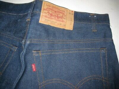 c7977a858c5 Vintage BAR TACK Red Tab Levi's 517 Jeans DEADSTOCK USA MADE Size 38 X 30 •
