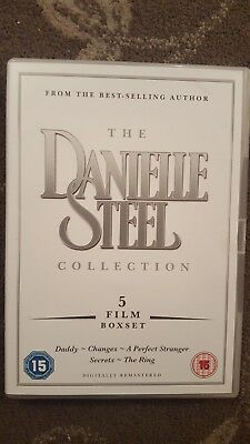 Danielle Steel Collection Dvd Daddy / Changes / Perfect Stranger / Ring / Secret • 19.99£