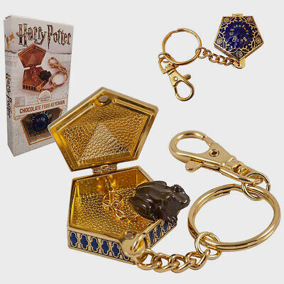 £9.99 • Buy Harry Potter Chocolate Frog Keychain Keyring Replica By The Noble Collection