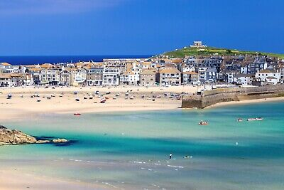 £32.99 • Buy 20 X30  St Ives Cornwall Cornish Beach Harbour Canvas Pictures Wall Prints