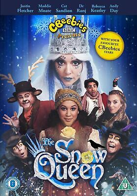 CBeebies: The Snow Queen (DVD) Justin Fletcher, Maddie Moate, Cat Sandion • 3.99£