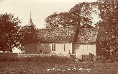 East Wittering Church Nr Chichester Unused RP Old Pc • 6.50£