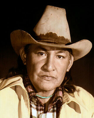 $ CDN17.53 • Buy WILL SAMPSON NATIVE AMERICAN INDIAN ACTOR 8x10  HAND COLOR TINTED PHOTOGRAPH