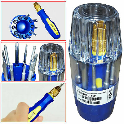 Tool KIT 11PC SCREWDRIVER INSULATED PRECISION TOOL SET PHILLIPS TORX SLOTTED • 94.68£