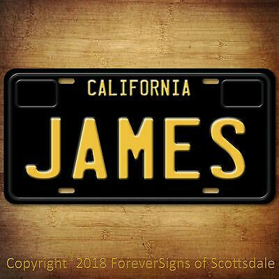 Jesus Name Etched Style License Plate Tag Vanity Novelty Metal 6 By 12 Inch