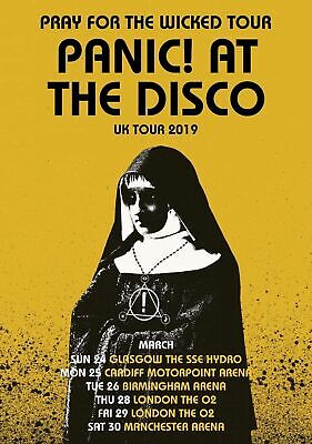 A3 A4 Size - Panic At The Disco Wall Poster • 4.78£