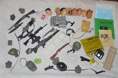 $ CDN31.76 • Buy 1/6 GI Joe Dragon And Miscellaneous Head Gear And Weapons Lot  Customs Kitbash