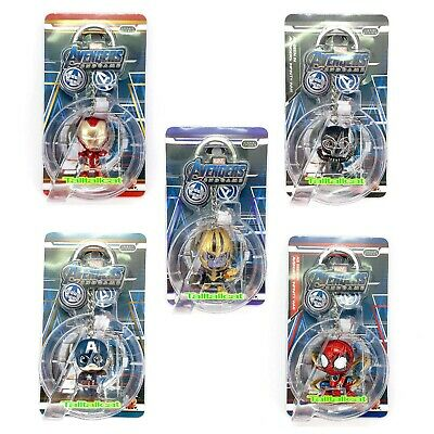 $ CDN93.53 • Buy Marvel HotToys Avengers END GAME Cosbaby Keychain ( Set Of 5 ) Key Chain
