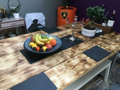 £495 • Buy Dining Table In Scaffold Planks And Scaffold Tubes To Seat 8 To 10 People