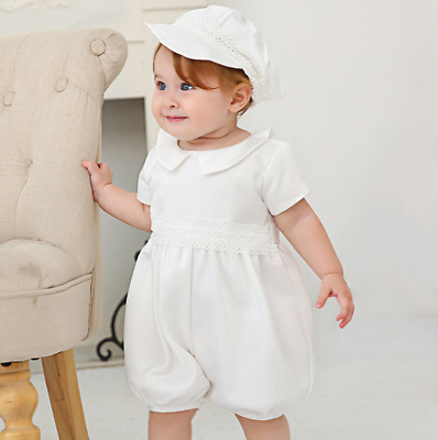 £23.99 • Buy Gorgeous Tutu Baby Romper Lace Christening Dress Toddler Embroidery Baptism Gown