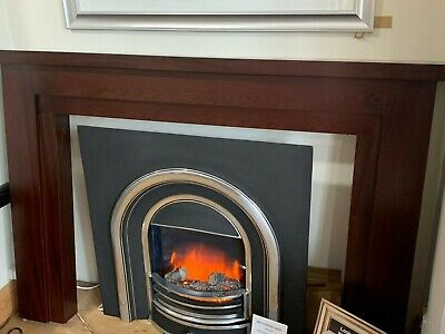 Mahogany Effect Wooded Fire Surround  Ex Display Showroom SALE • 200£