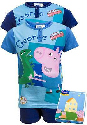 George Pig:navy Or  Blue Short Pyjama,boxed/unboxed,2,3,4,5,6yr,new With Tags • 7.50£