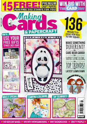 Making Cards & Papercraft Magazine May 2019 Tropical&Bouquet Paper&Parchment Mag • 4.99£