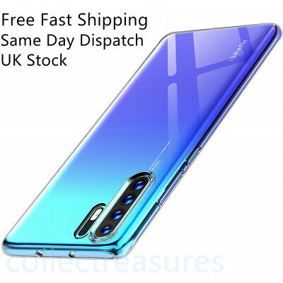 Case For Huawei P30 Pro Lite P Smart Cover Clear Ultra Slim Silicone Shockproof • 2.99£
