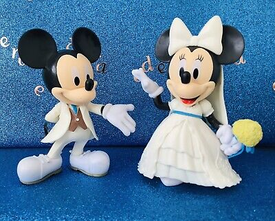 £19.99 • Buy Disney Mickey And Minnie Wedding   Large Cake Toppers