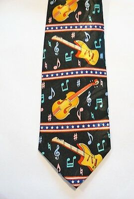 Guitar Violin Polyester Tie Strings Classical Music Rock Music • 12.90£