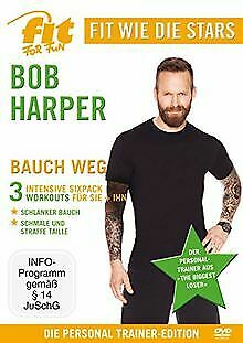 Fit For Fun - Fit Wie Die Stars: Bob Harper - Bau... | DVD | Condition Very Good • 11.51£