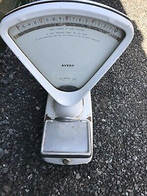 Vintage Avery Double Sided Sweet Shop Scales Collectible Hardware, Retro • 54£