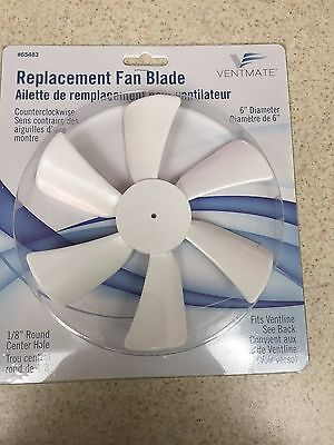 12 Volt Replacement Fan Blade/ Fits Rooftop Vents - Counter Clock Wise Rotation • 8.48£