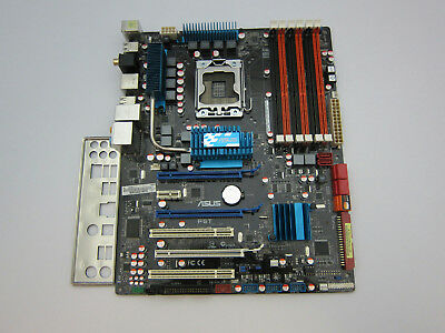 $ CDN227.91 • Buy ASUS P6T Motherboard Intel X58 LGA1366 DDR3 With I/O Shield *Tested Working*