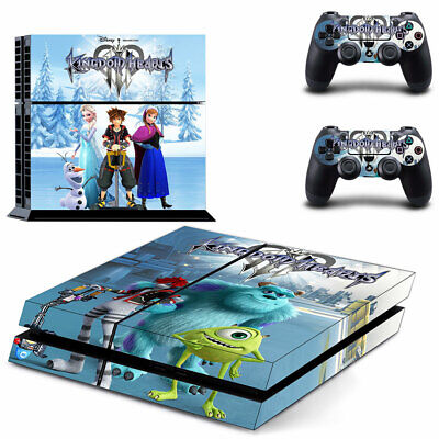AU12.95 • Buy Playstation 4 PS4 Console Skin Decal Sticker Frozen + 2 Controller Skin