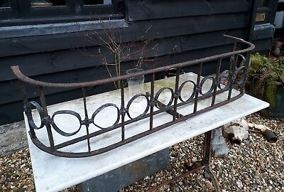 Georgian Regency Wrought Iron And Lead Window Box Architectural Regency • 225£