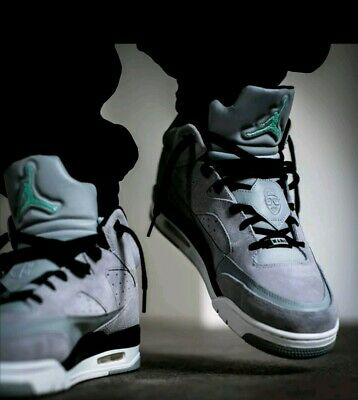 best website 1b98a 819f4 Nike Air Jordan Son Of Mars Low Shoes Size Grey emerald black 580603-