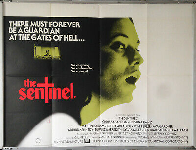 Cinema Poster: SENTINEL, THE 1977 (Quad) Ava Gardner Chris Sarandon • 19.95£