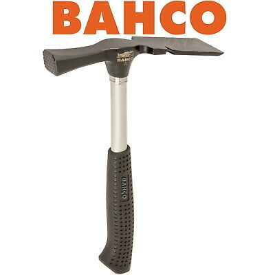£15.49 • Buy BAHCO Bricklayers Hammer 600g 21oz Chisel End Steel Shaft Rubber Grip Handle 486