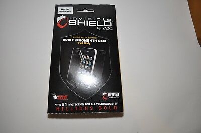 £3.61 • Buy Apple IPhone 4th Gen Full Body Invisible Shield (BRAND NEW!!!)