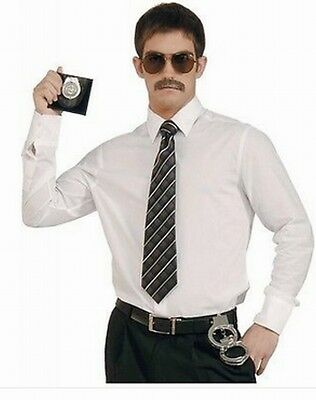£3.08 • Buy Police Badge Holder Handcuffs Glasses Moustache  Fancy Dress  Stag Do Hen Party