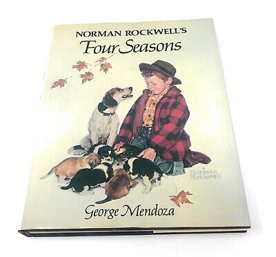 $ CDN11.66 • Buy Norman Rockwell's Four Seasons By George Mendoza (1982) Hardcover 1st Edition