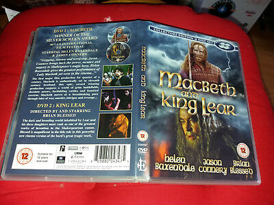 £5.99 • Buy MACBETH AND KING LEAR (2 DISC) DVD Starring: Helen Baxendale Jason Connery