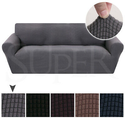 AU27.99 • Buy Super Stretch Sofa Slip Covers Couch Lounge Covers Slipcovers 1/2/3/4 Seater